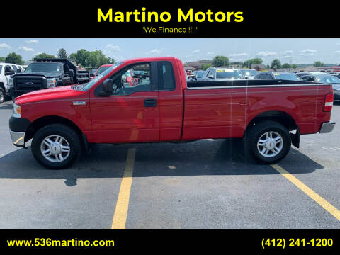 2008 Ford F-150 for sale at Martino Motors in Pittsburgh PA