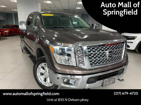 2016 Nissan Titan XD for sale at Auto Mall of Springfield in Springfield IL