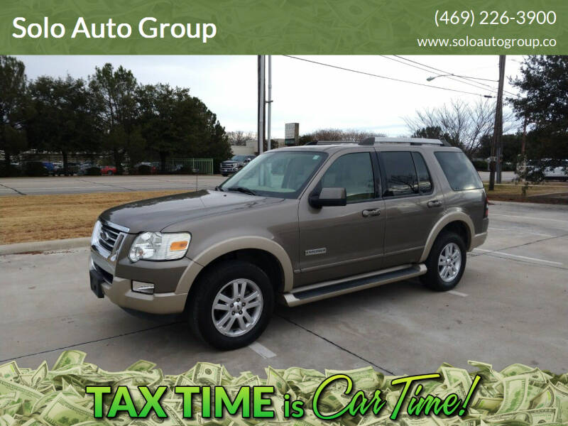 2006 Ford Explorer for sale at Solo Auto Group in Mckinney TX