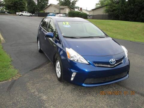 2012 Toyota Prius v for sale at Euro Asian Cars in Knoxville TN