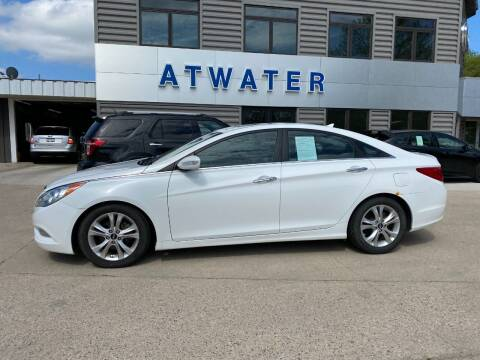 2011 Hyundai Sonata for sale at Atwater Ford Inc in Atwater MN
