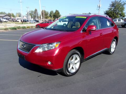 2011 Lexus RX 350 for sale at Ideal Auto Sales, Inc. in Waukesha WI