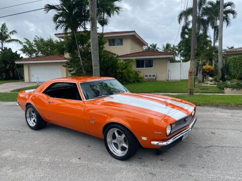 1968 Chevrolet Camaro for sale at BIG BOY DIESELS in Fort Lauderdale FL