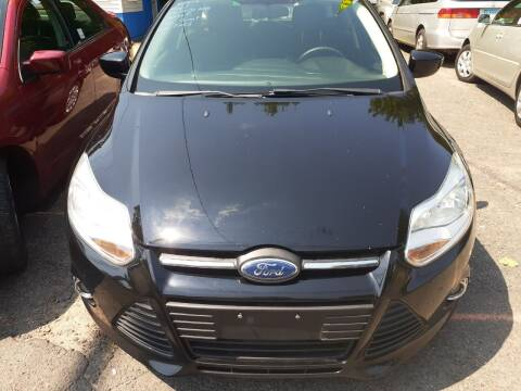 2012 Ford Focus for sale at Broad Street Auto in Meriden CT