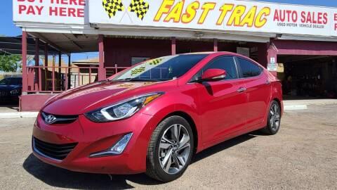 2015 Hyundai Elantra for sale at Fast Trac Auto Sales in Phoenix AZ