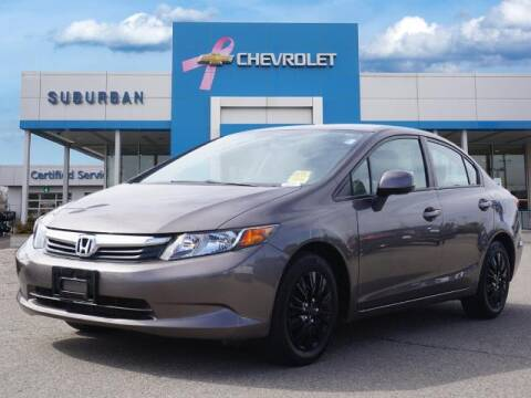 2012 Honda Civic for sale at Suburban Chevrolet of Ann Arbor in Ann Arbor MI