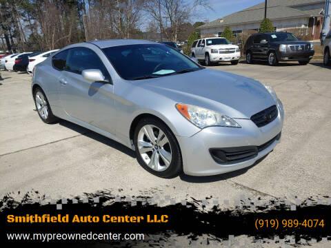 2012 Hyundai Genesis Coupe for sale at Smithfield Auto Center LLC in Smithfield NC