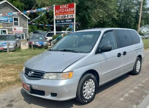 2004 Honda Odyssey for sale at Korz Auto Farm in Kansas City KS