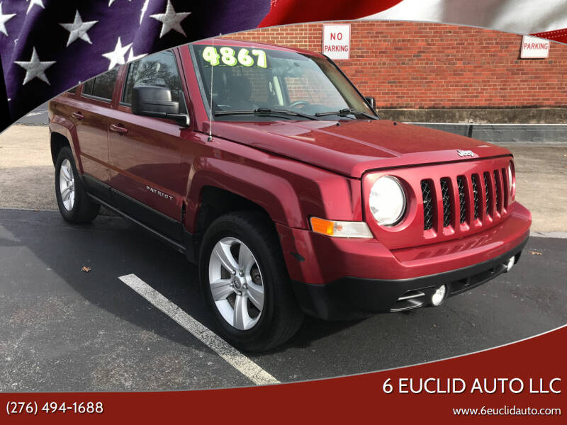 2014 Jeep Patriot for sale at 6 Euclid Auto LLC in Bristol VA