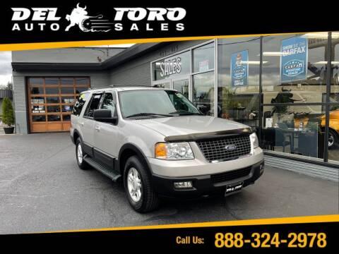 2004 Ford Expedition for sale at DEL TORO AUTO SALES in Auburn WA