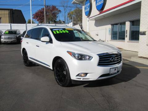 2013 Infiniti JX35 for sale at Auto Land Inc in Crest Hill IL