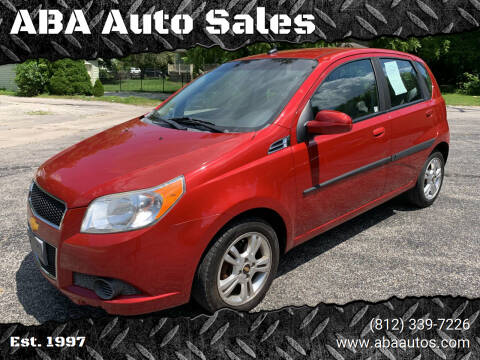2011 Chevrolet Aveo for sale at ABA Auto Sales in Bloomington IN
