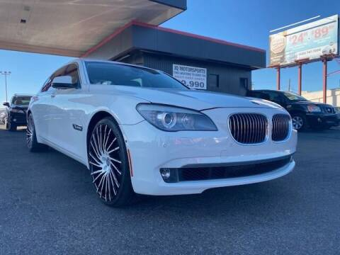 2012 BMW 7 Series for sale at JQ Motorsports East in Tucson AZ