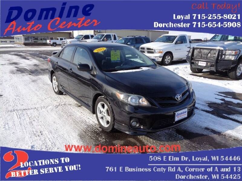 2011 Toyota Corolla for sale at Domine Auto Center - commercial vehicles in Loyal WI