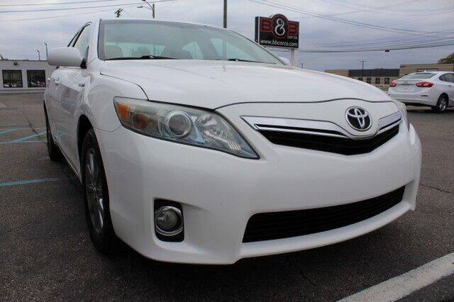 2011 Toyota Camry Hybrid for sale at B & B Car Co Inc. in Clinton Twp MI