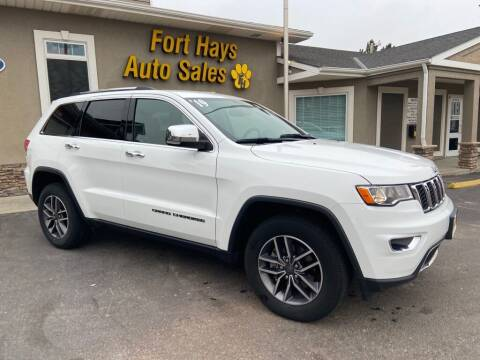 2019 Jeep Grand Cherokee for sale at Fort Hays Auto Sales in Hays KS