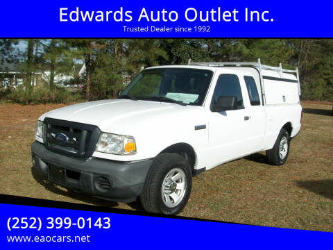 2010 Ford Ranger for sale at Edwards Auto Outlet Inc. in Wilson NC