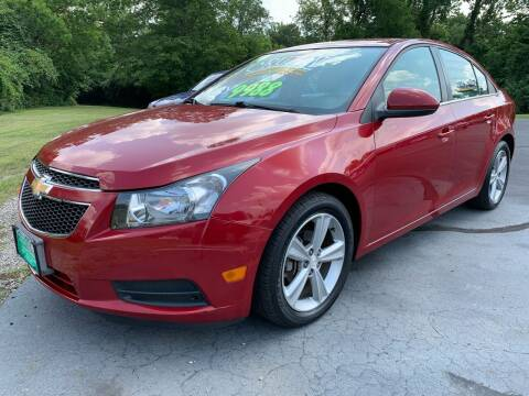2014 Chevrolet Cruze for sale at FREDDY'S BIG LOT in Delaware OH