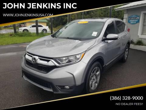 2017 Honda CR-V for sale at JOHN JENKINS INC in Palatka FL