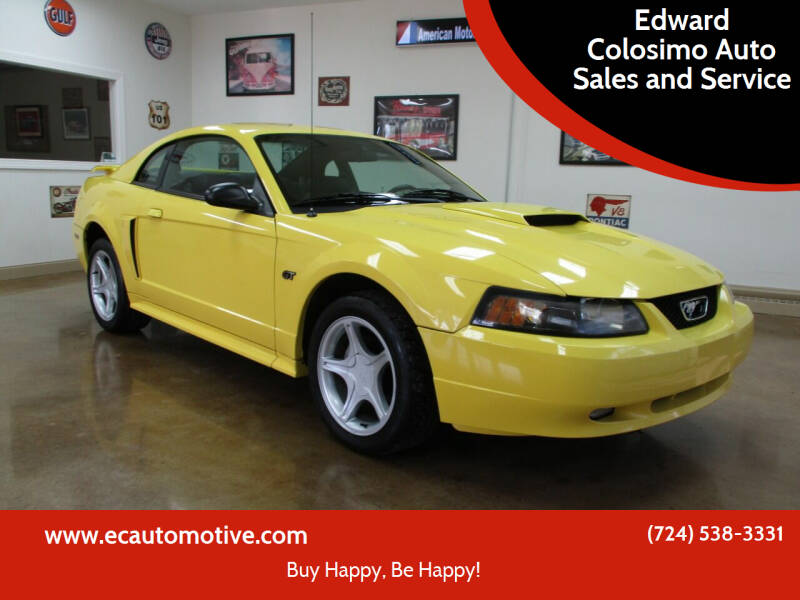 2001 Ford Mustang for sale at Edward Colosimo Auto Sales and Service in Evans City PA