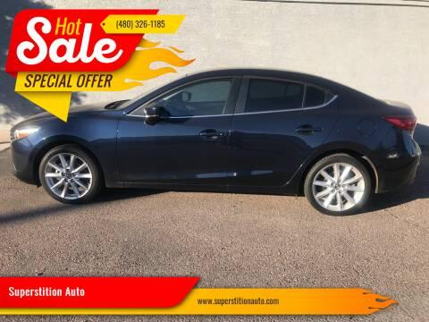 2017 Mazda MAZDA3 for sale at Superstition Auto in Mesa AZ