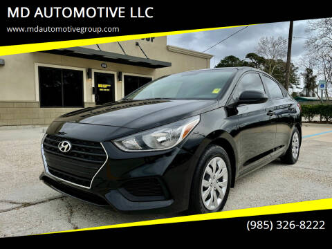 2018 Hyundai Accent for sale at MD AUTOMOTIVE LLC in Slidell LA