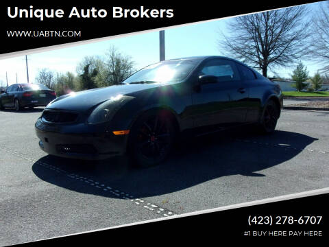 2003 Infiniti G35 for sale at Unique Auto Brokers in Kingsport TN