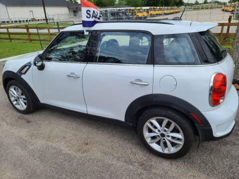 2012 MINI Cooper Countryman for sale at MG Autohaus in New Caney TX