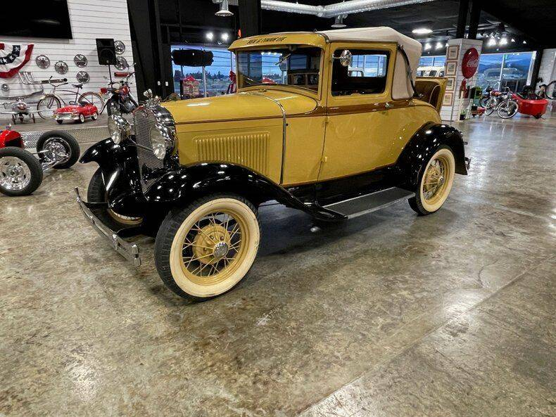 1930 Ford Model A for sale at Drager's International Classic Sales in Burlington WA
