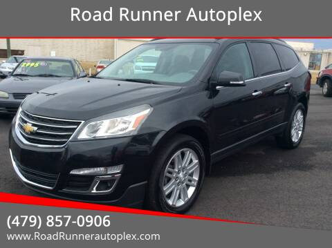 2015 Chevrolet Traverse for sale at Road Runner Autoplex in Russellville AR