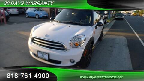 2015 MINI Paceman for sale at Prestige Auto Sports Inc in North Hollywood CA