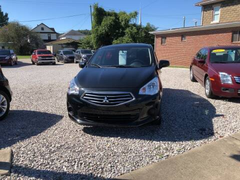 2019 Mitsubishi Mirage G4 for sale at ADKINS PRE OWNED CARS LLC in Kenova WV