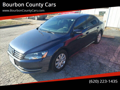 2013 Volkswagen Passat for sale at Bourbon County Cars in Fort Scott KS