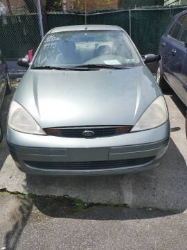 2003 Ford Focus for sale at GARET MOTORS in Maspeth NY