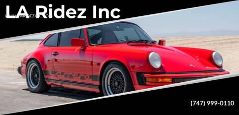 1987 Porsche 911 for sale at LA Ridez Inc in North Hollywood CA