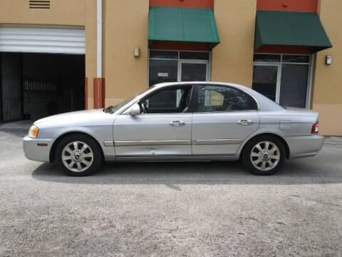 2004 Kia Optima for sale at Cad Auto Sales Inc in Miami FL
