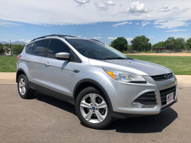 2013 Ford Escape for sale at Nations Auto in Lakewood CO