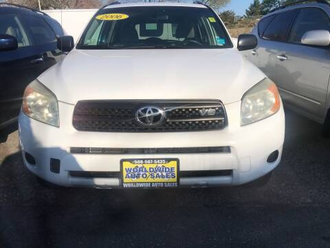 2006 Toyota RAV4 for sale at Worldwide Auto Sales in Fall River MA