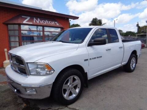 2011 RAM Ram Pickup 1500 for sale at Z MOTORS INC in Hollywood FL