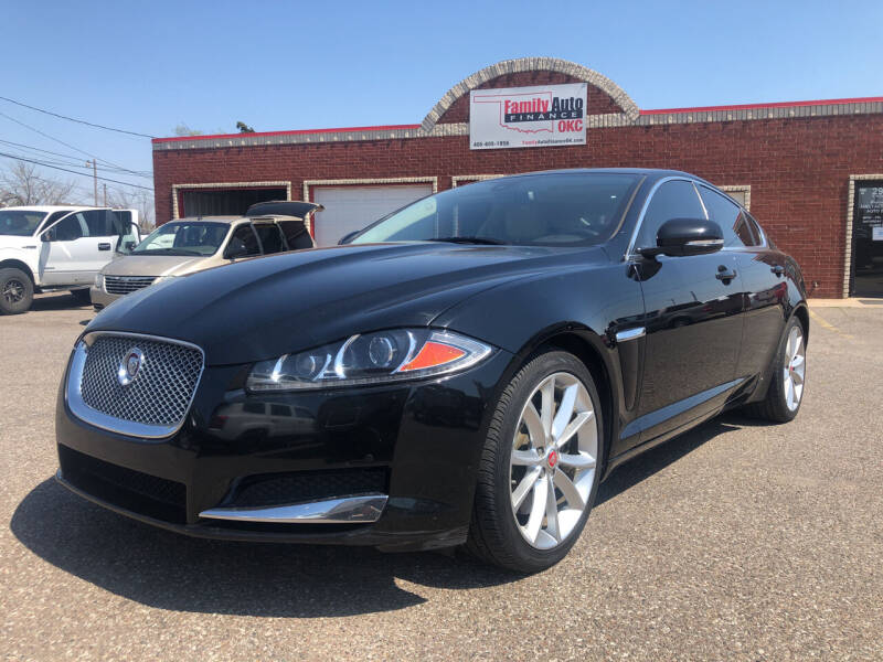 2015 Jaguar XF for sale at Family Auto Finance OKC LLC in Oklahoma City OK