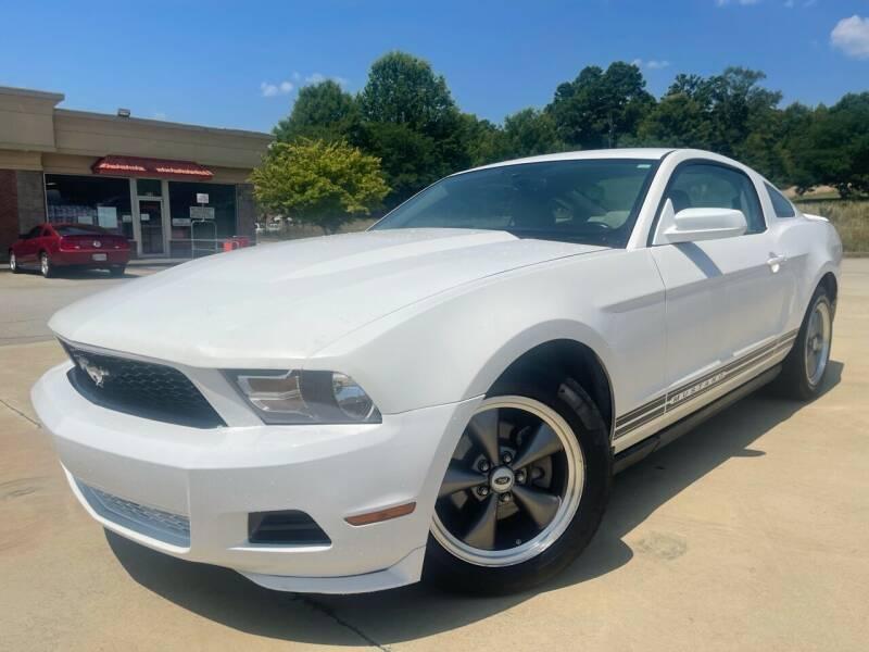 2010 Ford Mustang for sale at Gwinnett Luxury Motors in Buford GA