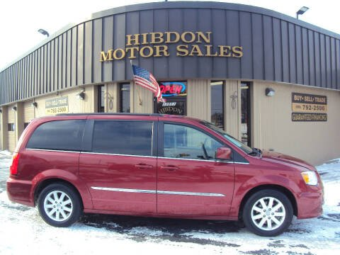 2015 Chrysler Town and Country for sale at Hibdon Motor Sales in Clinton Township MI
