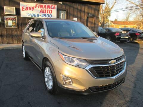 2018 Chevrolet Equinox for sale at EZ Finance Auto in Calumet City IL