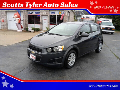 2016 Chevrolet Sonic for sale at Scotts Tyler Auto Sales in Wilmington IL
