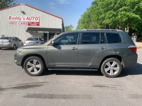 2008 Toyota Highlander for sale at Buddy's Auto Inc in Pendleton SC