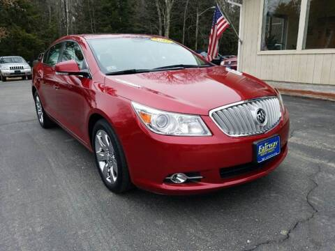 2012 Buick LaCrosse for sale at Fairway Auto Sales in Rochester NH