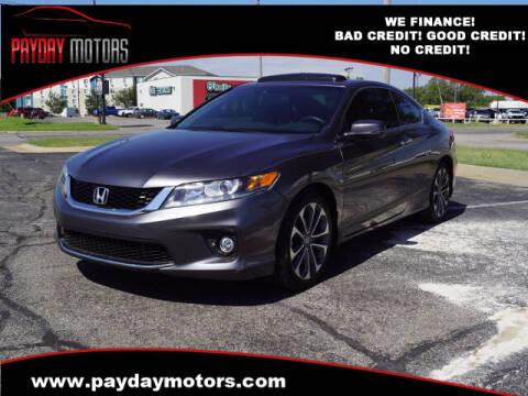 2013 Honda Accord for sale at Payday Motors in Wichita KS