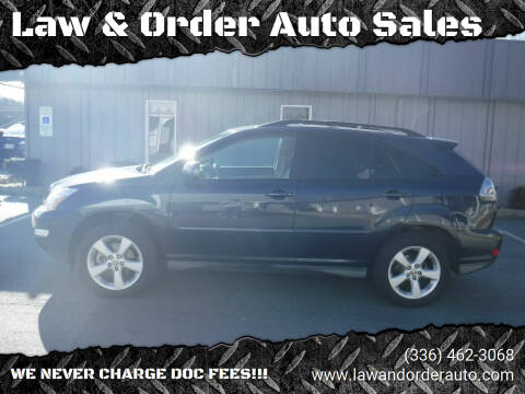 2005 Lexus RX 330 for sale at Law & Order Auto Sales in Pilot Mountain NC