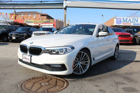 2017 BMW 5 Series for sale at MIKEY AUTO INC in Hollis NY
