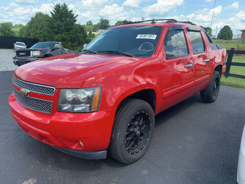 2008 Chevrolet Avalanche for sale at Todd Nolley Auto Sales in Campbellsville KY